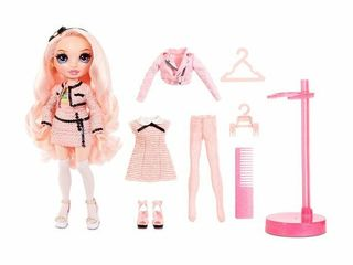 Rainbow High Bella Parker   Pink Fashion Doll with 2 Complete Mix   Match Outfits   Doll Accessories
