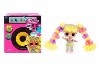 l O l  Surprise  Remix Hair Flip Dolls a 15 Surprises with Hair Reveal   Music