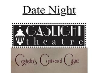 Gaslight Theater tickets   GC to Costellos