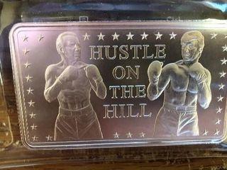 Trump  Hustle on the Hill  Campaign Silver Bar