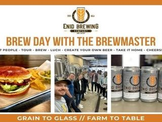 Brew Day With The Brewmaster   Enid Brewing
