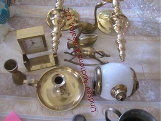 11pcs of brass decor