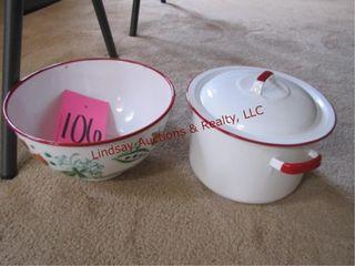 Granite pot   decorative bowl