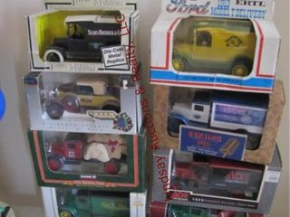 9 collectors die cast trucks 1 64 scale SEE PICS