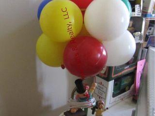 Clown   balloon lamp