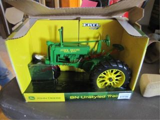 Ertl JD BN unstyled tractor 1 16 die cast
