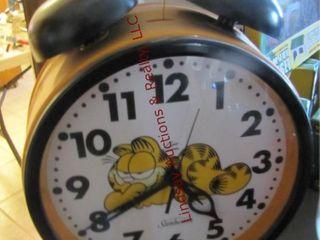 Garfield table top alarm clock 17x13