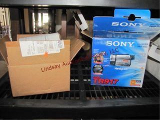 Group  Sony TR917 handy cam 72x digital zoom