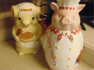 Piggy cookie jar   mouse