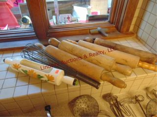 5 rolling pins   whisp