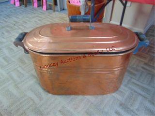 Copper boiler tub 2  x 14