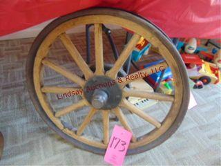 Ford woodspoke car wheel 24