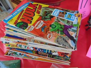 Stack of 25  comic magazines SEE PICS