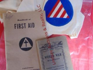 Book on WW1  First aid book dated 1941