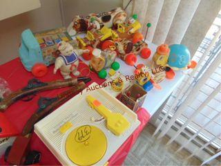 10pcs of Fisher Price kids toys  2 toy guns