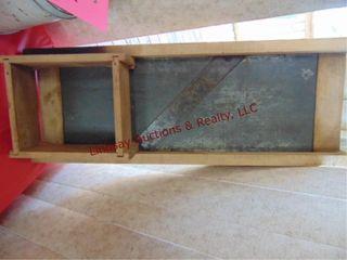 Wood Kraut cutter 25  x 9