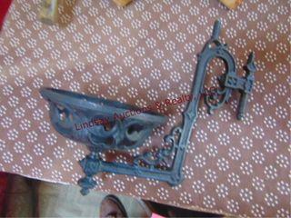 B H  12 ornate metal lamp holder