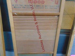 Victory wood 11 5 x 23 5 washboard