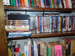 1 flat of 75 plus dvds SEE PICS