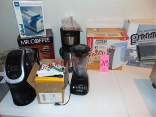 Keurig  Mr  Coffee  Cuizinart coffee maker