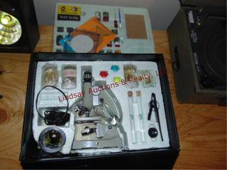 Microscope science kit