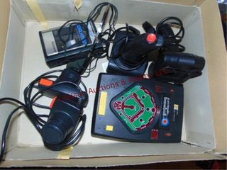 Vintage electronic baseball game  controllers