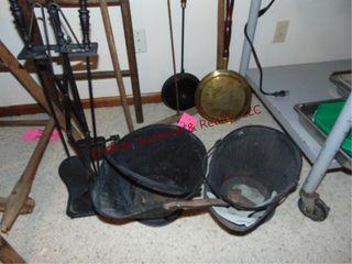 7pcs  coal buckets  shovel    FP set