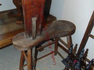 Vintage leathermens seat vise