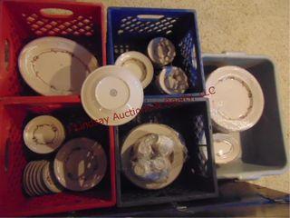 5 boxes of dishes Shenoingo China