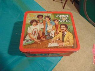 VIntage welcom back Kolder lunch box
