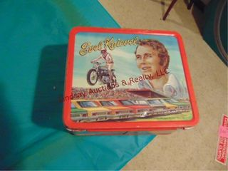 Vintage Evil Knievel lunch box