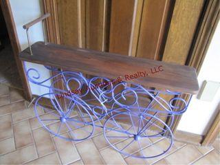 Stroller bench 29 5 x 7 x 25