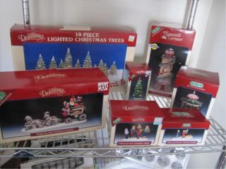 7pcs leMax Dickensvale Collectibles SEE PICS