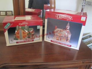 2 leMax Dickensvale Collectibles SEE PICS