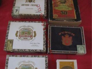 5 cigar boxes   1 1902 Sears Roebuck Catalog
