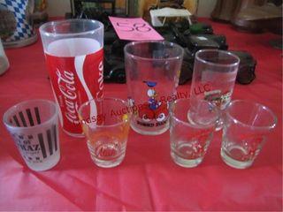 Group w  7 shot glasses