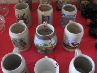 12 beer mugs SEE PICS