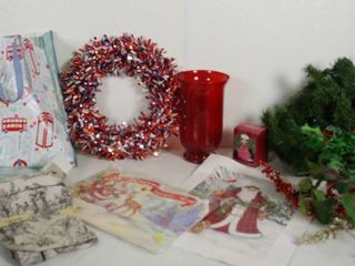 4th of July Wreath  Christmas Items  Shams and More