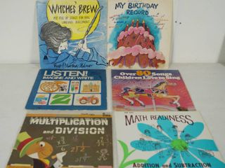 lot of 6  Vintage Vinyl Records   See Photos