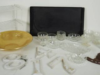 lot of Vintage Glassware   More  See Photos