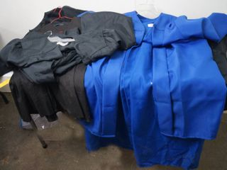 Graduation Gowns   Black Ones and a Blue One is Jostens  Size 6 01  6 03