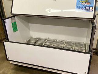 True TMC 58 HC Milk Cooler w  Top   Side Access