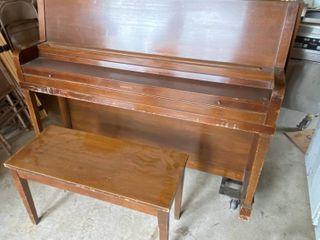 Piano   EVERETT w  Bench and AMAZING Heavy Duty Casters