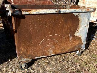 Metal Trash Dumpster