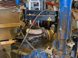 Commercial Tire Mounting Machine   avaglioli   Worked when uninstalled