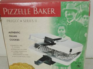 Pizzelle Baker  Prego Series   Villa Ware  in Original Box and Packaging