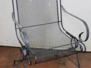 Metal Patio Chair