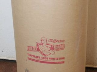 lot of Temporary Floor Protection   Builder Board