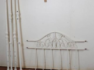 White Metal Daybed Frame