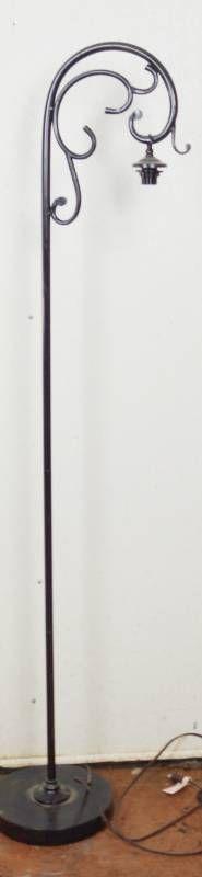 Metal Floor lamp  approx  65  Tall
